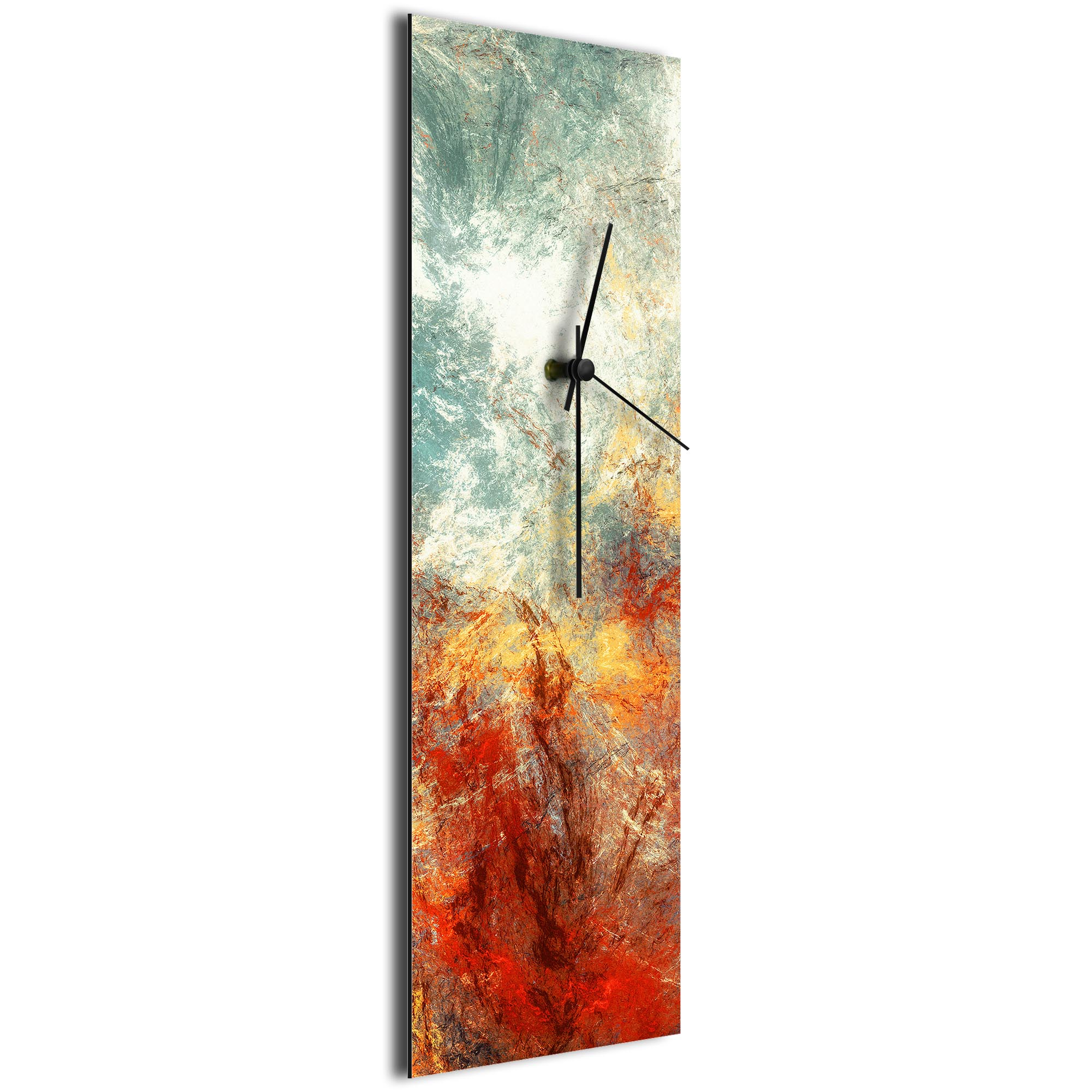 Sentinal Clock v4 by NAY - Distressed Modern Wall Clock - Image 2