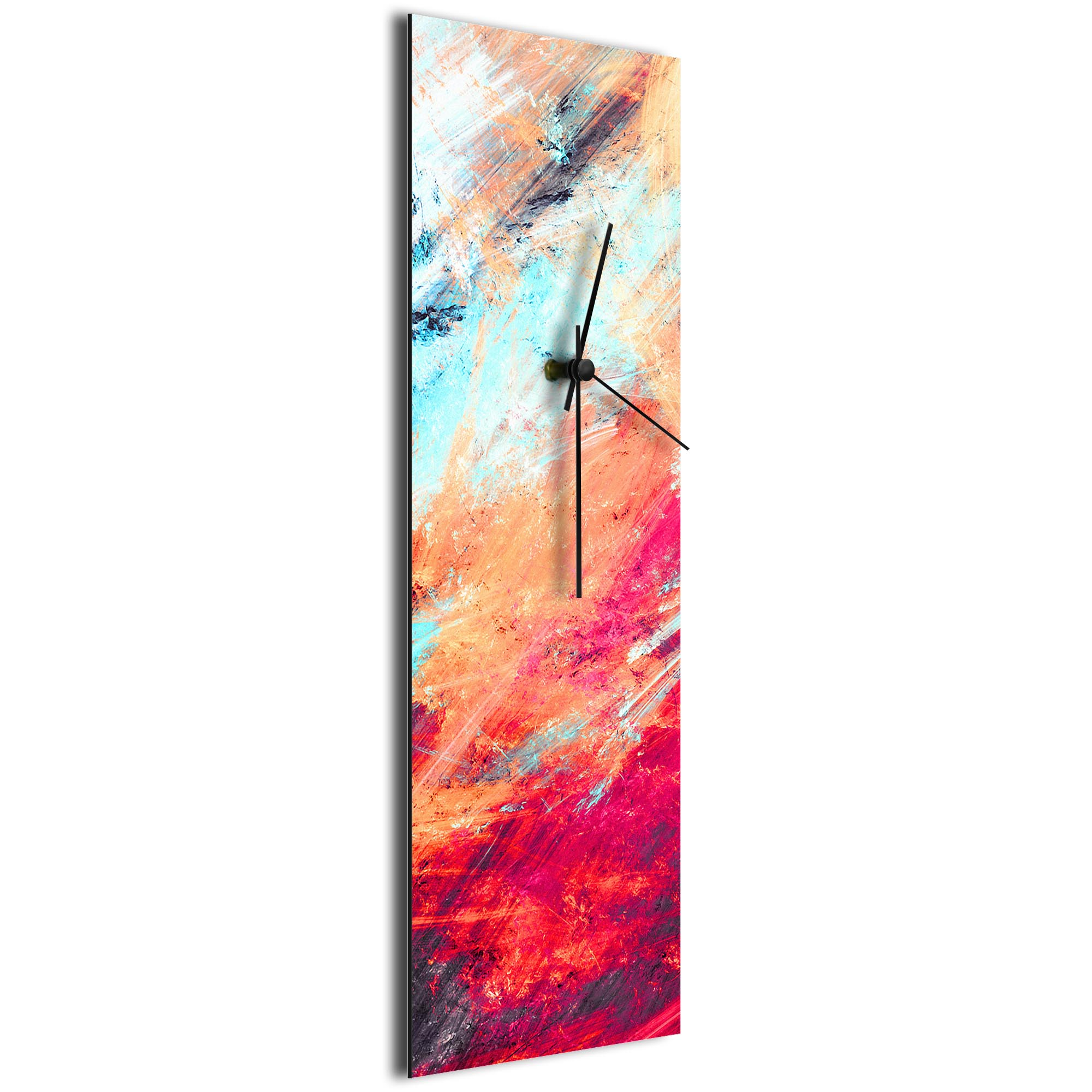 Sentinal Clock v5 by NAY - Distressed Modern Wall Clock - Image 2