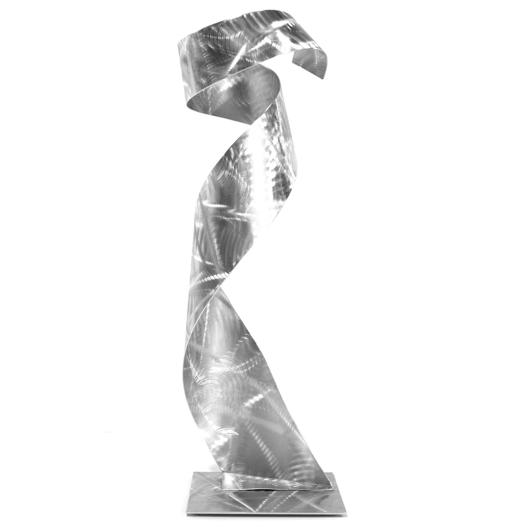 The Gown Sculpture by Helena Martin - Modern Metal Art on Ground Metal - Image 2
