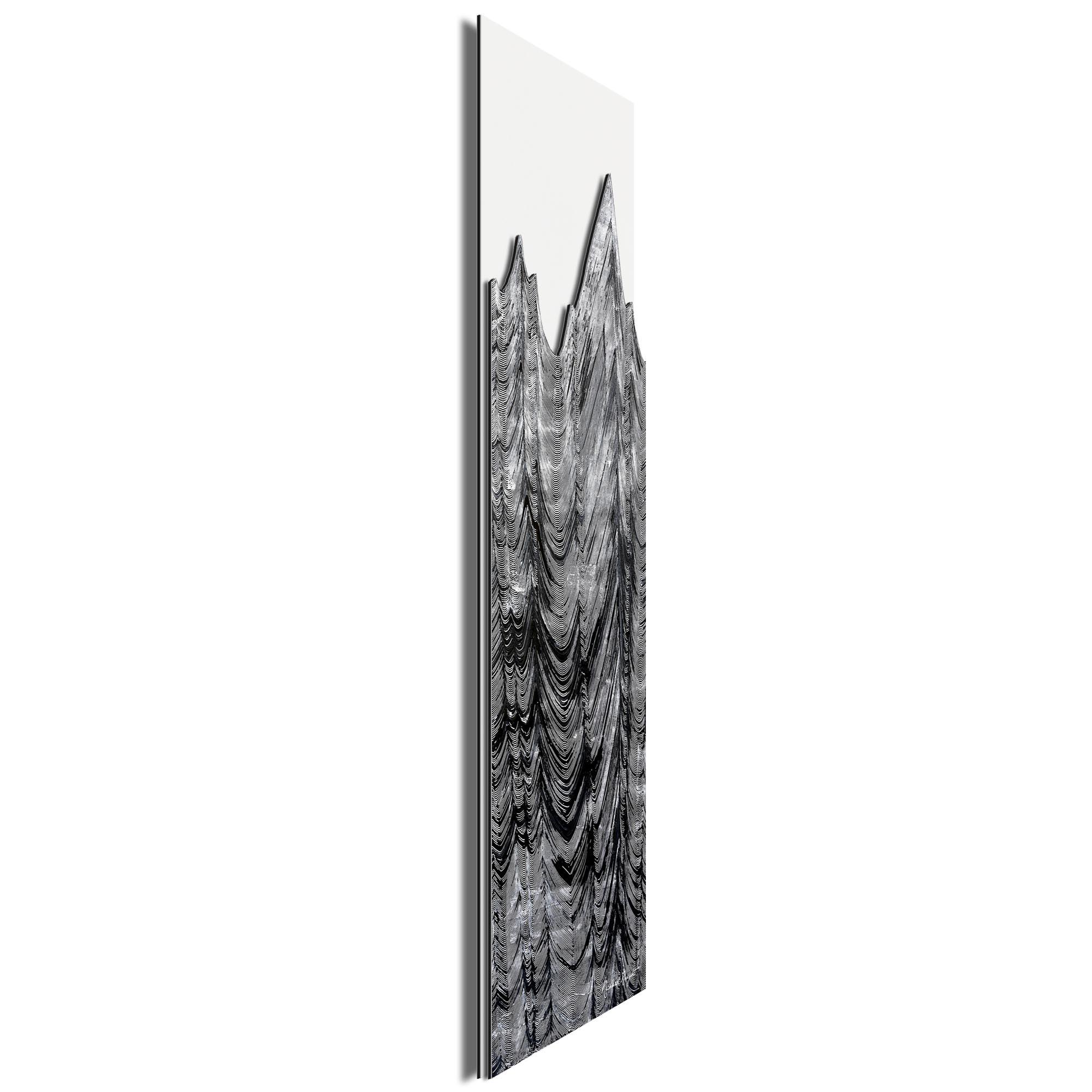 Slate Peaks by Richard Knight - Ltd. Ed. Minimalist Abstract Landscape Art - Image 2