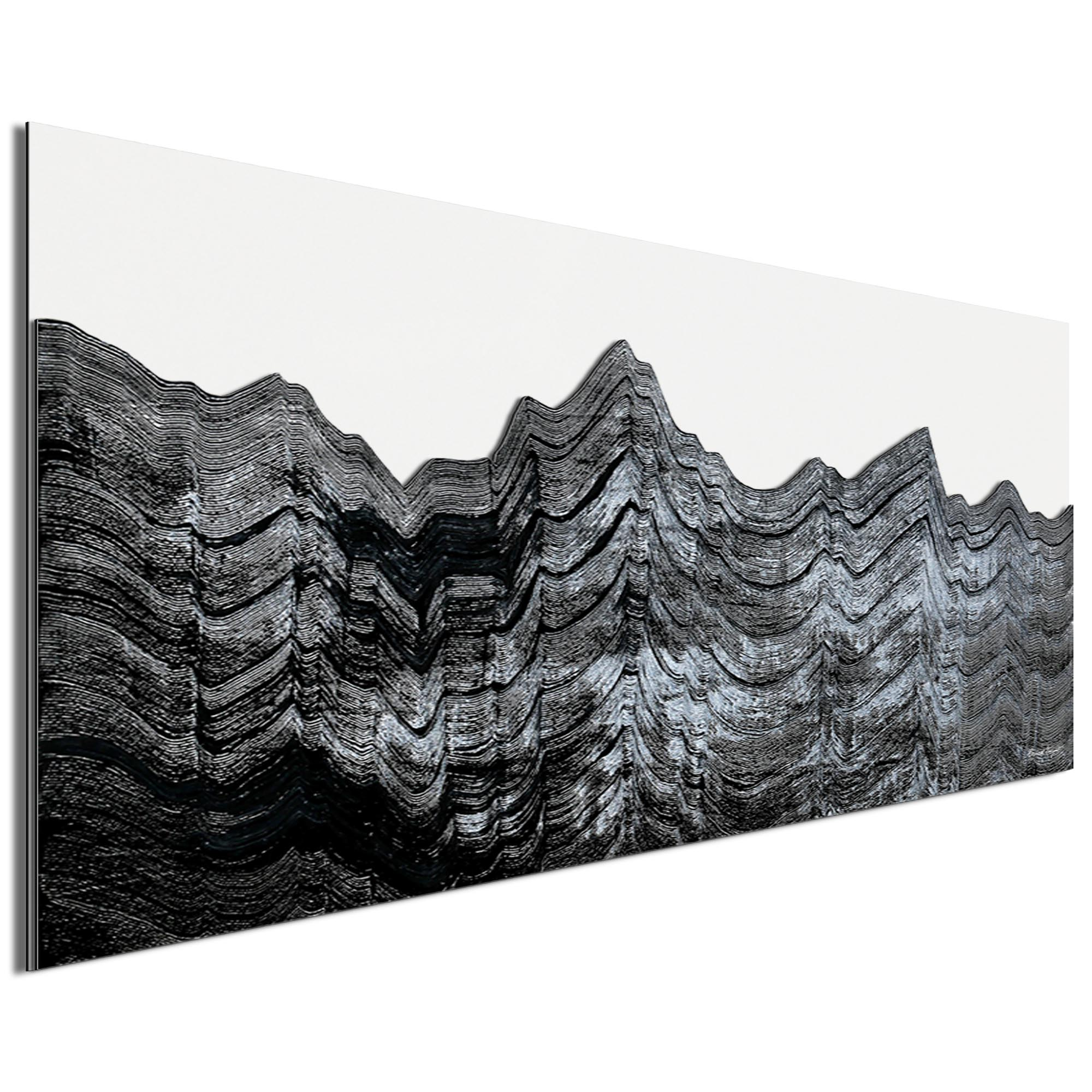 Slate Horizon by Richard Knight - Ltd. Ed. Minimalist Abstract Landscape Art - Image 2