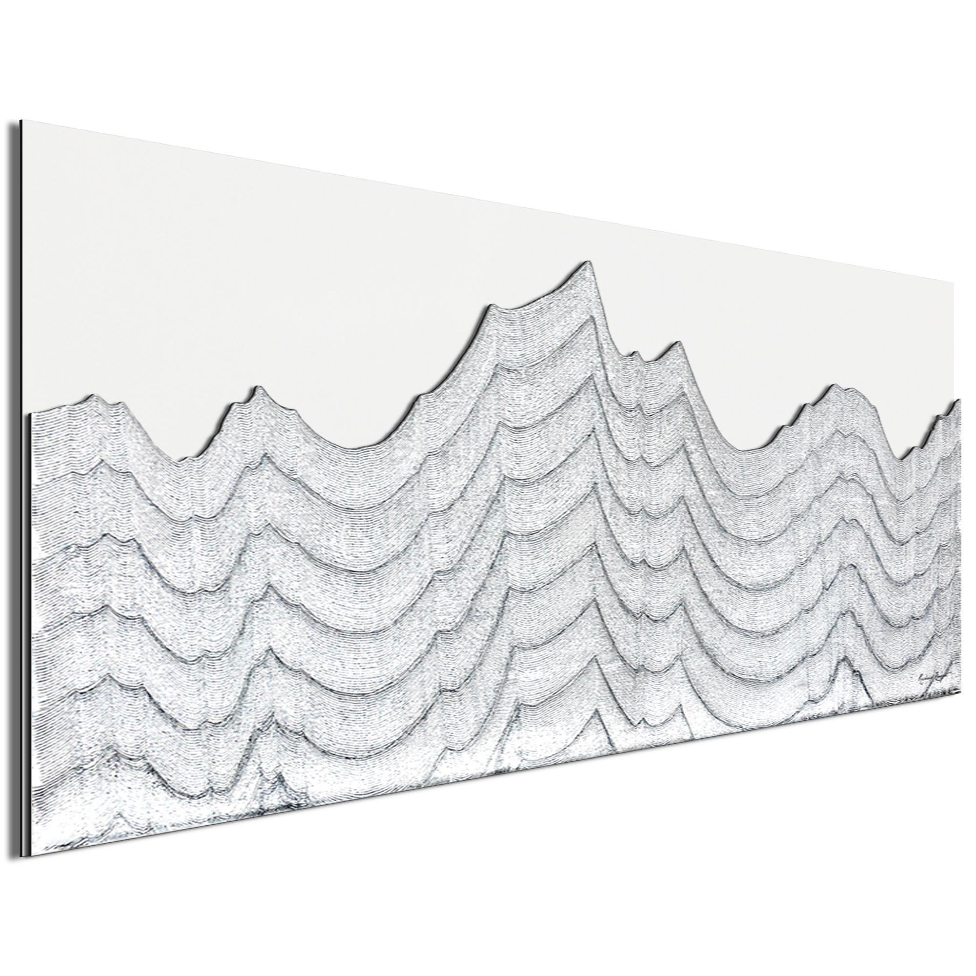 Whitewashed Horizon by Richard Knight - Ltd. Ed. Minimalist Abstract Landscape Art - Image 2