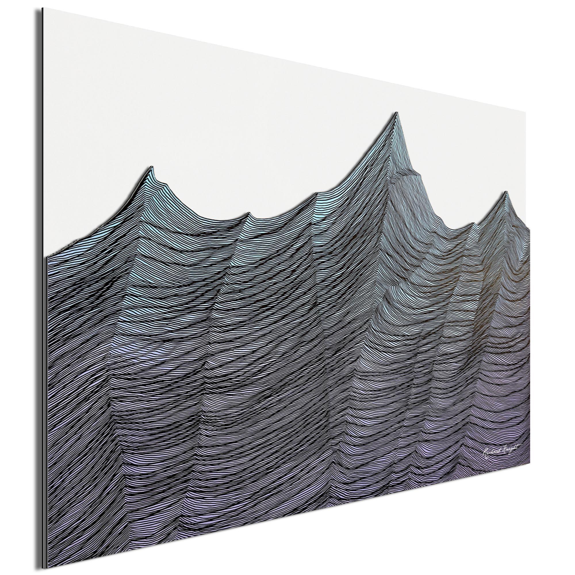 Brisk Range by Richard Knight - Ltd. Ed. Minimalist Abstract Landscape Art - Image 2