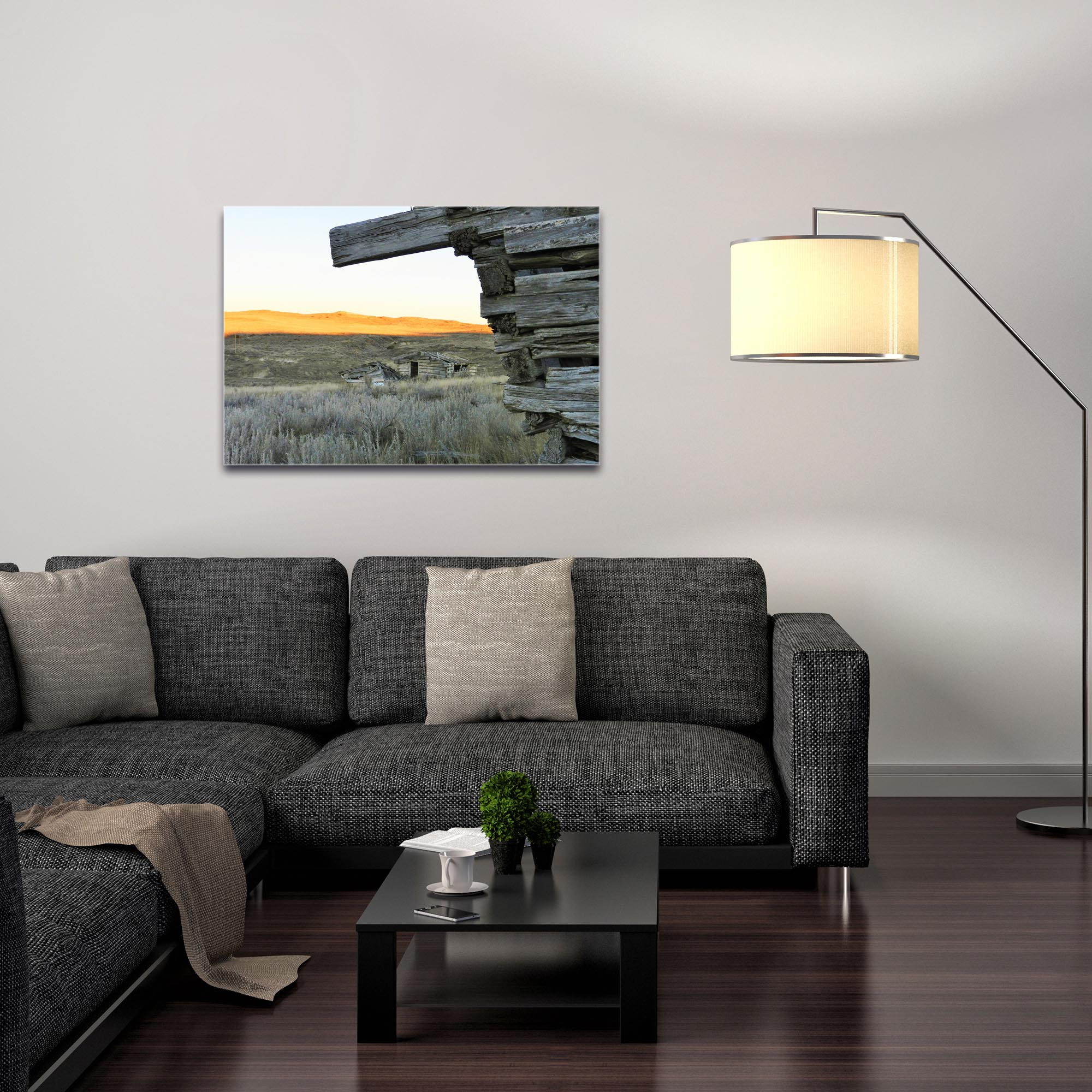 Western Wall Art 'The Corner' - American West Decor on Metal or Plexiglass - Image 3