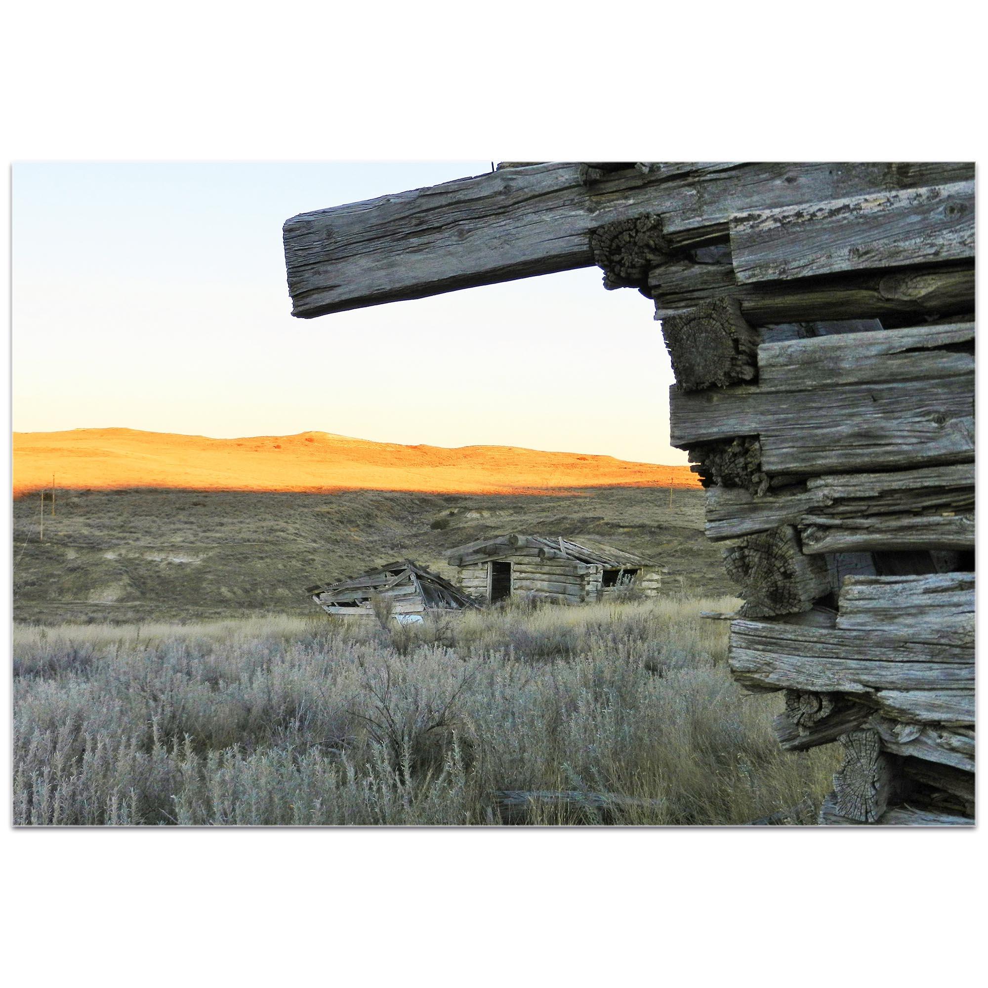 Western Wall Art 'The Corner' - American West Decor on Metal or Plexiglass - Image 2