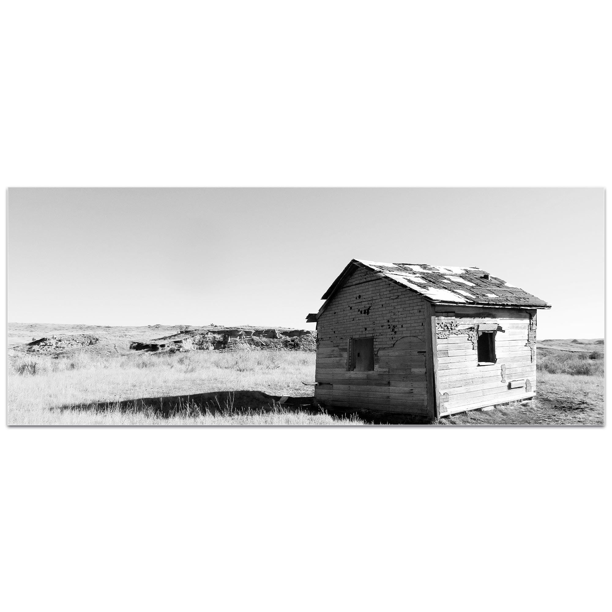 Western Wall Art 'The Shack' - American West Decor on Metal or Plexiglass - Image 2