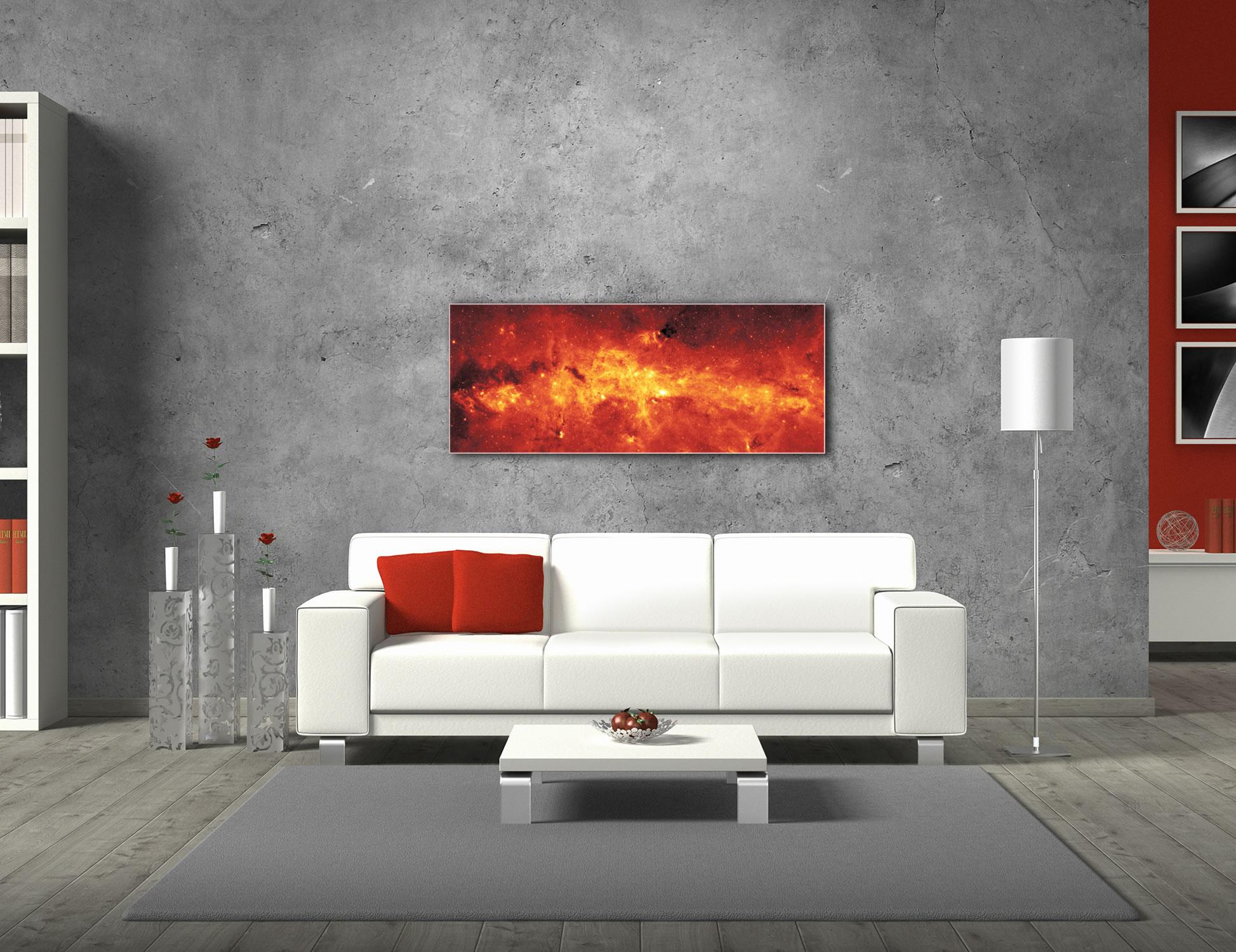 Galactic Center - Modern Wall Decor - Lifestyle Image
