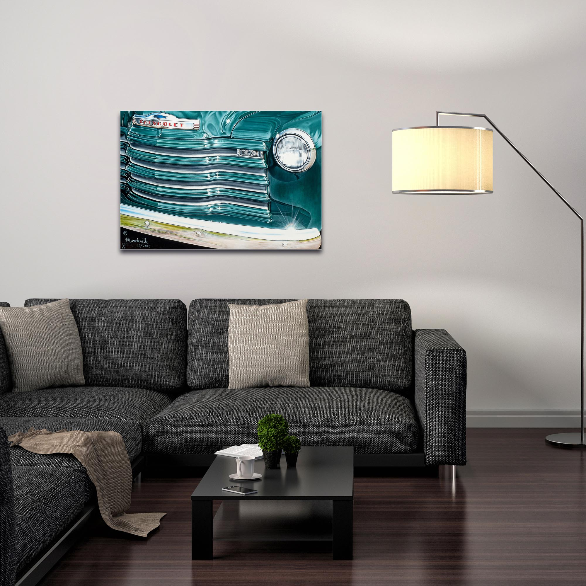Americana Wall Art 'Grandpaz' - Classic Cars Decor on Metal or Plexiglass - Image 3