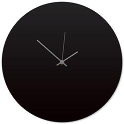 Blackout Grey Circle Clock 16x16in. Aluminum Polymetal