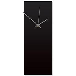 Blackout Grey Clock 6x16in. Aluminum Polymetal