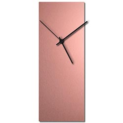 Adam Schwoeppe Coppersmith Clock Black Midcentury Modern Style Wall Clock