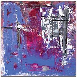 Abstract Wall Art Urban Life 7 - Urban Decor on Metal or Plexiglass