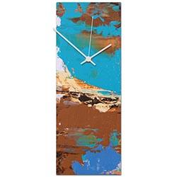 Urban Earth v3 Clock 6x16in. Metal