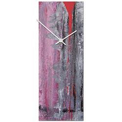 Urban Warmth v2 Clock 6x16in. Metal