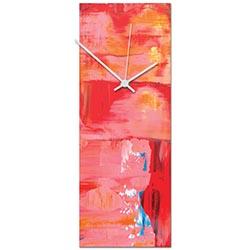Urban Warmth v6 Clock 6x16in. Metal
