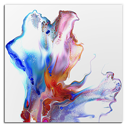 Elana Reiter Hinged 36in x 36in Contemporary Style Abstract Wall Art