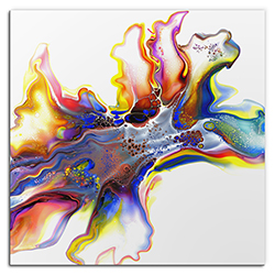 Elana Reiter Medley 36in x 36in Contemporary Style Abstract Wall Art