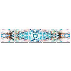 Abstract Wall Art Celestial - Colorful Urban Decor on Metal or Plexiglass