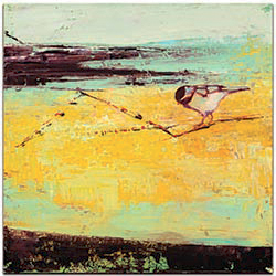Bird on a Horizon by Janice Sugg - Contemporary Wall Art on Metal or Plexiglass