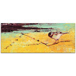 Bird on a Horizon v2 by Janice Sugg - Contemporary Wall Art on Metal or Plexiglass