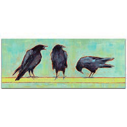 Crow Bar 1 v2 by Janice Sugg - Contemporary Wall Art on Metal or Plexiglass