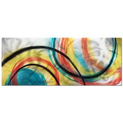 Rainbow Seasons - Colorful Circles Abstract Art