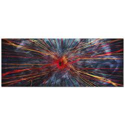 Implosion - Intense/Energetic Abstract Wall Art