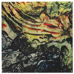 Jupiter - Faux Texture Abstract Metal Wall Art