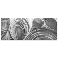Conduction Composition - Modern Metal Wall Art