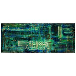 Aporia Blue - Contemporary Metal Wall Art