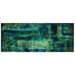 Aporia Blue - Contemporary Metal Wall Art