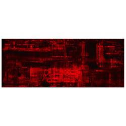 Aporia Red - Contemporary Metal Wall Art