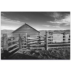 Western Art Old West Farm - Rustic Decor on Metal or Acrylic