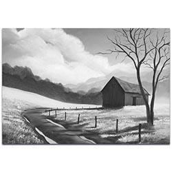 Western Painting Prairie Life - Rustic Decor on Metal or Acrylic