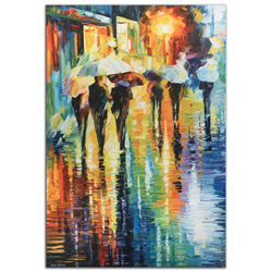 Rainy-Etude - Modern Metal Wall Art