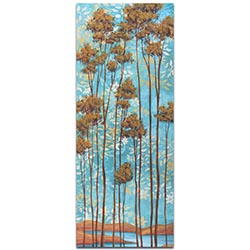 Abstract Tree Art Floating Dreams v2 - Landscape Painting on Metal or Acrylic
