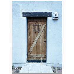 Eclectic Wall Art Olde Door - Architecture Decor on Metal or Plexiglass