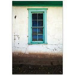 Eclectic Wall Art Bay Window - Architecture Decor on Metal or Plexiglass