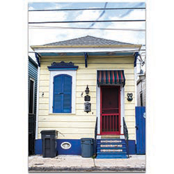Eclectic Wall Art House on the Bayou - Architecture Decor on Metal or Plexiglass