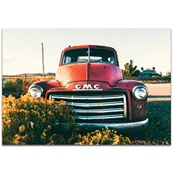 Americana Wall Art GMC Grill - Classic Truck Decor on Metal or Plexiglass