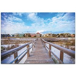 Coastal Wall Art Gulf Path - Bridges Decor on Metal or Plexiglass