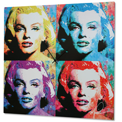 Marilyn Monroe - Modern Metal Wall Art