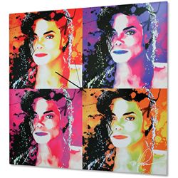 Michael Jackson - Modern Metal Wall Art
