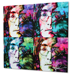 John Lennon - Modern Metal Wall Art