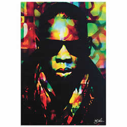 Mark Lewis Jay Z Color of a CEO Limited Edition Pop Art Print on Metal or Acrylic