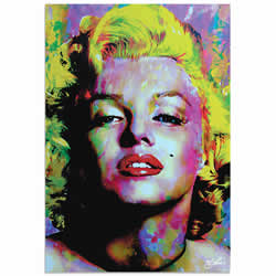 Mark Lewis Marilyn Monroe Relinquished Beauty Limited Edition Pop Art Print on Metal or Acrylic