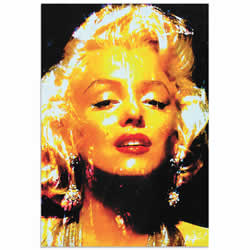 Mark Lewis Marilyn Monroe Restoration Limited Edition Pop Art Print on Metal or Acrylic