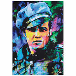Mark Lewis Marlon Brando Whadda Ya Got Limited Edition Pop Art Print on Metal or Acrylic