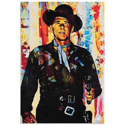 Mark Lewis Ronald Reagan Generation Extinction Limited Edition Pop Art Print on Metal or Acrylic