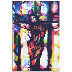 Raquel Welch Convicted Silk by Mark Lewis - Celebrity Pop Art on Metal or Plexiglass